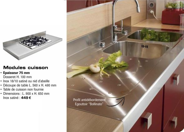 1000 images about kitchen ideas on pinterest cuisine - Credence inox cuisine ikea ...